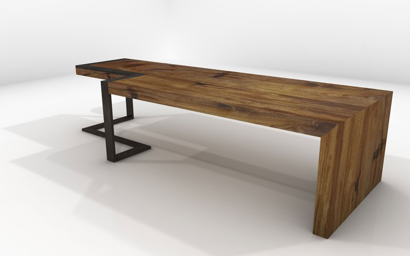 Atik Bench  Sustainable Solid Wood Living Room Seating Furniture