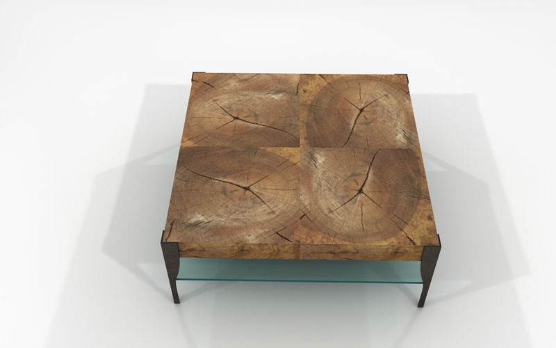 Mimas Coffee Table Sustainable Solid Wood Living Room