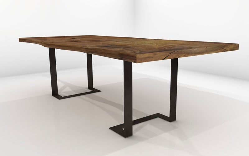 Pictor dining table sustainable solid wood dining room for Dining room tables handmade