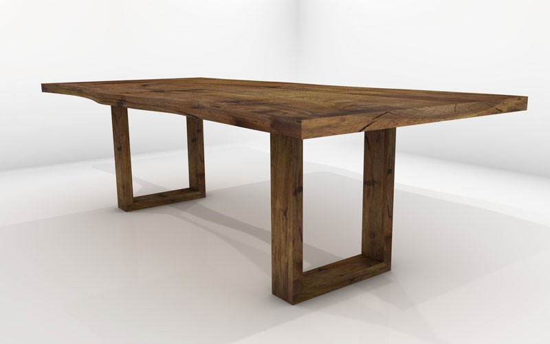 Sagitta Dining Table Sustainable Solid Wood Room