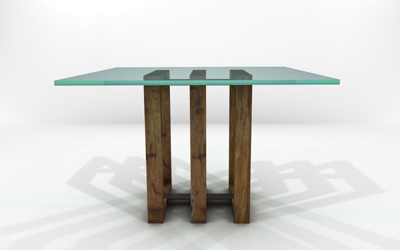 Hydra Dining Table Sustainable Solid Wood Dining Room
