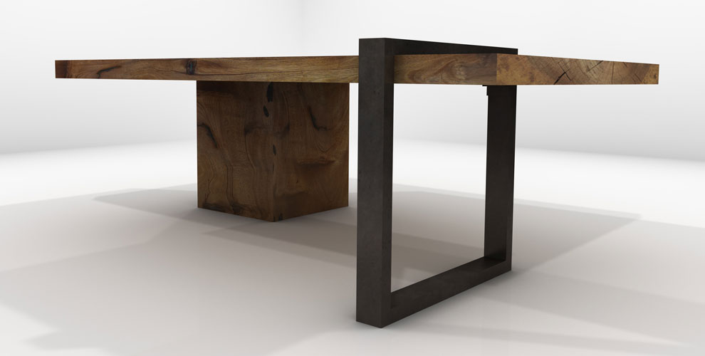Dorado Dining Table Altair Coffee